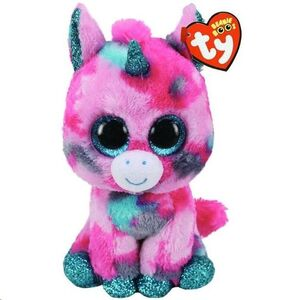 PELUCHE MEDIANO TY BOO GUMBALL PINK 15 CM