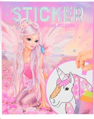 FANTASY MODEL STICKER YOUR PICTURE