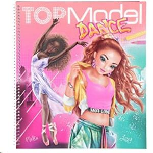 CUADERNO PARA COLOREAR TOP MODEL