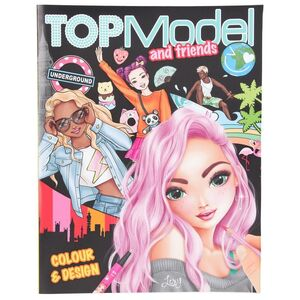TOP MODEL COLOUR AND DESIGN BOOK