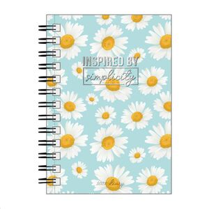 LARGE WEEKLY SPIRAL BOUND DIARY 12 MONTH 2022 DAISY