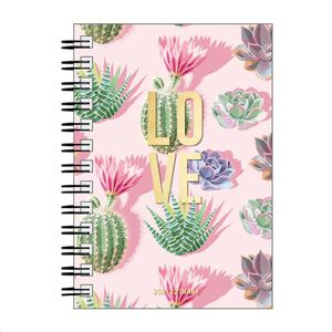 LARGE WEEKLY SPIRAL BOUND DIARY 12 MONTH 2022 LOVE