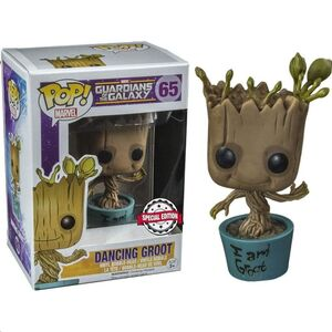 FUNKO POP! MARVEL GUARDIANS OF THE GALAXY DANCING I AM GROOT EXCLUSIVE