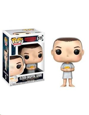 STRANGER THINGS POP! TV VINYL FIGURA ELEVEN (HOSPITAL GOWN) 9 CM