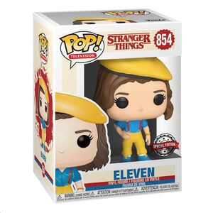FUNKO POP! 854 ELEVEN IN YELLOW OUTFIT - STRANGER THINGS
