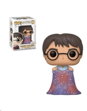FUNKO POP HARRY POTTER HARRY WITH INVISIBILITY CLOAK