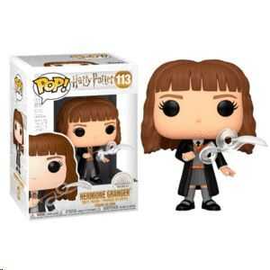 FIGURA POP HARRY POTTER HERMIONE WITH FEATHER