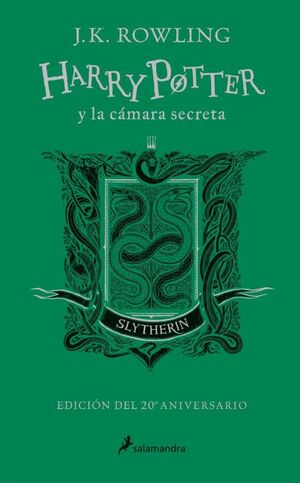 HARRY POTTER I LA CAMBRA SECRETA (SLYTHERIN)